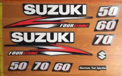 Suzuki наклейки Сузуки 50-60-70 дф инжектор