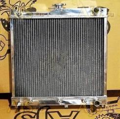 Радиатор охлаждения двигателя. Suzuki Jimny, JB23W, JB43W, JB43 Двигатели: M13A, K6A