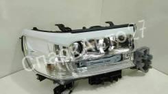 Накладка на фару. Toyota Land Cruiser, GRJ200, J200, URJ200, URJ202, URJ202W, UZJ200, UZJ200W, VDJ200 Двигатели: 1GRFE, 1URFE, 1VDFTV, 2UZFE, 3URFE