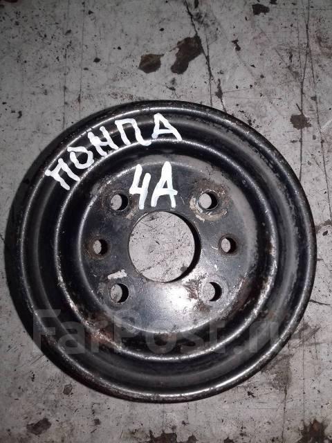 Шкив помпы. Toyota: Corona, Corolla Spacio, Vios, Soluna Vios, Sprinter Trueno, Corolla, Carina E, Sprinter Marino, Carina II, Tercel, Carina, Celica...