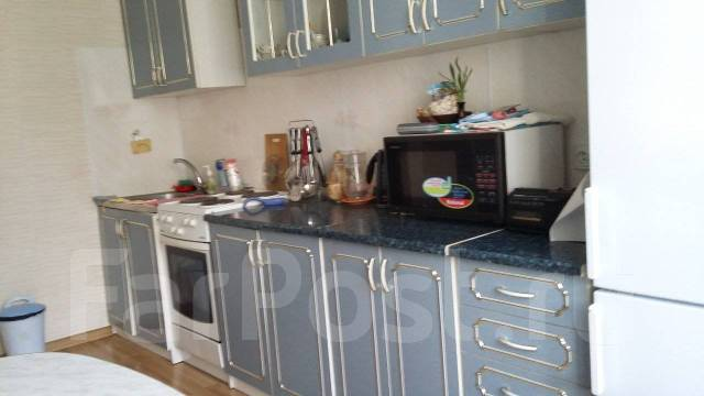 2-комнатная, улица Толстого 48. Толстого (Буссе), 57кв.м. Кухня