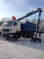Майман-110S. Продаю КМУ Ломовоз МАЗ-6312В5-8429-012, кузов 30 куб , 8 500 куб. см., 12 000 кг.