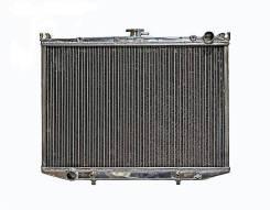 Радиатор охлаждения двигателя. Nissan Terrano Nissan Pickup, D21 Nissan Datsun Truck, AMD21, BGD21, BMD21, PD21, PGD21, PMD21 Двигатели: TD27, TD27ETI...
