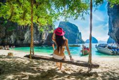 Таиланд. Пхукет. Пляжный отдых. Пхукет + Гонконг; перелеты + проживание в отеле 4* на пляже Ката