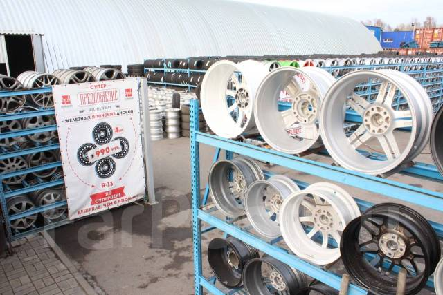 Грандиозный выбор шин на полях колес Хоккайдо