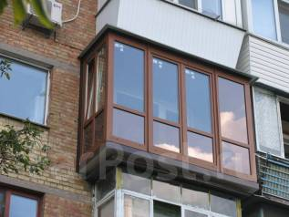 Окна Балконы Расширение Отделка