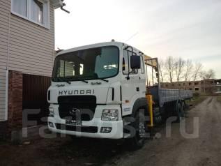 Hyundai HD250. Кран манипулятор с завода Ю. Кореи !, 11 149 куб. см., 15 000 кг.