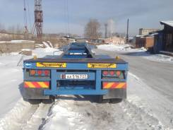 Shaanxi Shacman. Прицеп контейнеровоз, 25 000 кг.
