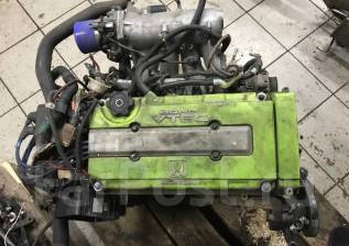 Двигатель в сборе. Honda Civic, EK4, EG6, EG4, EK2, EJ1, EJ7, EG3, EK3 Двигатели: B16A, D15B, D13B, D16A