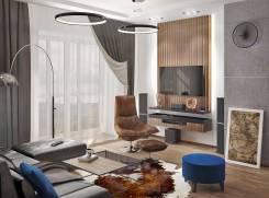 2-комнатная, улица Калинина 11а. Чуркин, частное лицо, 74 кв.м. Интерьер