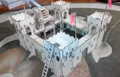 Крепость деревянная