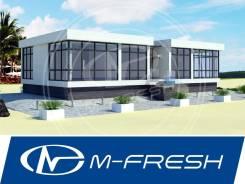 M-fresh Thailand (Проект 1-этажн. дома на две семьи с плоской крышей! ). 100-200 кв. м., 1 этаж, 6 комнат, бетон