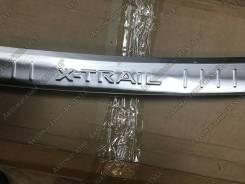 Накладка на бампер. Nissan X-Trail, HNT32, HT32, NHT32, NT32, T32. Под заказ