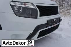 Решетка бамперная. Renault Duster