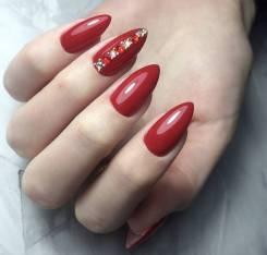 Манекюр + покрытие гель лаком , наращивоние ногтей