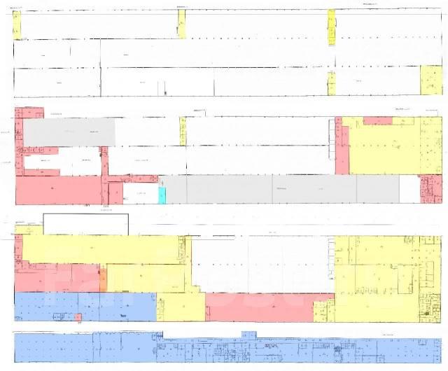 Большой выбор складов на Фадеева рядом с развязкой от 200р. 15 000кв.м., улица Командорская 11, р-н Тихая. План помещения