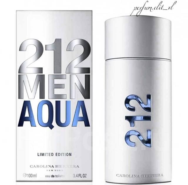 Carolina Herrera 212 Men Aqua новинка парфюмерия во владивостоке
