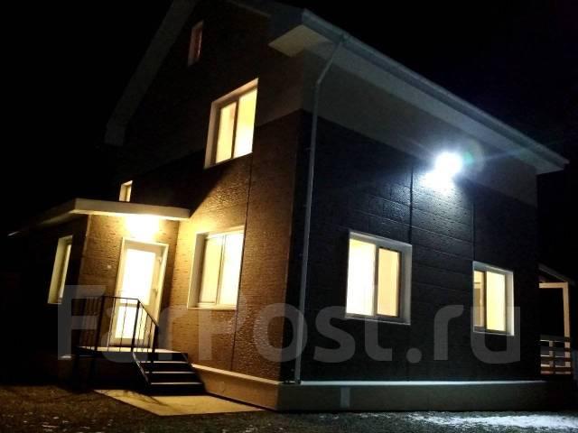 Новый капитальный дом. Абрикосовый преулок 21а, площадь дома 190 кв.м., скважина, электричество 15 кВт, отопление электрическое, от частного лица (со...