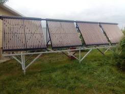 Солнечное отопление и ГВС, их увязка с теплым полом, радиаторами