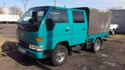 Toyota Dyna. 4WD, дизель, двухкабинник, 2 800 куб. см., 1 500 кг.