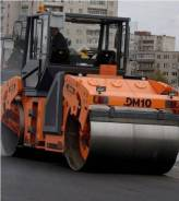 Завод ДМ DM-10-VD. Каток дорожный двухвальцовый вибрационный DM-10-VD (вес 11 т. шир. вал, 4 750куб. см. Под заказ