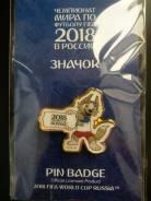 Значок ЧМ2018 в России - Забивака (табличка) - Чемпионат близко