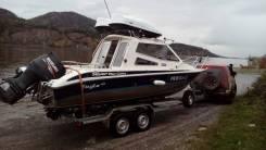 Silver Star Cabine. Год: 2008 год, длина 6,50м., двигатель подвесной, 175,00л.с., бензин