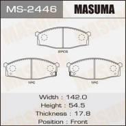 Колодка тормозная дисковая. Nissan Atlas, H2F23, H4F23, K2F23, K4F23, N4F23, P2F23, P4F23, P6F23, P8F23, R2F23, R4F23, R8F23 Двигатели: KA20DE, NA20S...