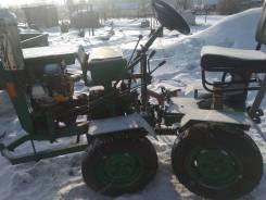 Самодельная модель. Мини трактор 4вд, 1 000 куб. см.