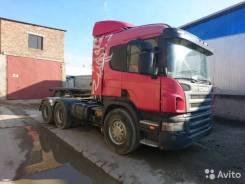 Scania P380. Тягач scania P380 6x4, 11 234 куб. см., 28 000 кг.