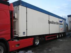 Knapen K200. Полуприцеп-щеповоз с подвижным полом Cargo Floor , 39 000кг.