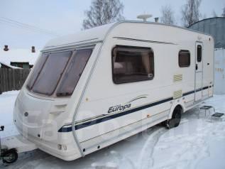 Sterling Caravans Europa. Караван Sterling Europa 2004 года 5 мест с мувером