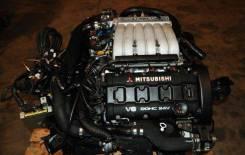 Двигатель ДВС Митсубиси 6g72 Б/У