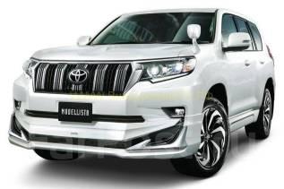 Обвес кузова аэродинамический. Toyota Land Cruiser Toyota Land Cruiser Prado, GDJ150L, GDJ150W, GDJ151W, GRJ150L, TRJ12, TRJ150W Двигатели: 1GDFTV, 1G...