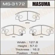 Колодка тормозная дисковая. Mitsubishi: Strada, L200, Delica, L300, Pajero, Montero Двигатели: 4D56, 4G32, 4G54, 4G63, 4G64, 6G72, G54B, G63B, 4G92, G...