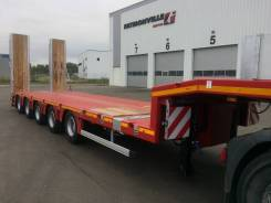 Faymonville. Трал MaxTrailer MAX100-N-5A-9.30-U, 63 362 кг.