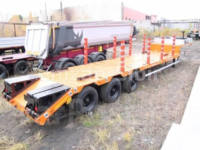 Чмзап 99064. Полуприцеп тяжеловоз (ТРАЛ) - В Наличии! Оф. дилер!, 40 000 кг.