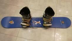 Сноуборд с ботинками. 125,00см., freestyle (фристайл)
