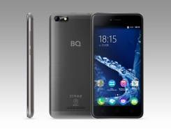 BQ BQ-5058 Strike Power Easy. Б/у, 8 Гб, Серый, Черный, 3G, 4G LTE, Dual-SIM