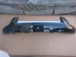 Накладка на бампер. Toyota Land Cruiser Prado, GDJ150, GDJ150L, GDJ150W, GRJ150, GRJ150L, GRJ150W, GRJ151W, KDJ150, KDJ150L, LJ150, TRJ12, TRJ150, TRJ...