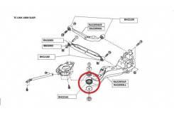 Сайлентблок подвески. Nissan Rogue, S35 Nissan X-Trail, DNT31, NT31, T31, T31N, T31P, T31R, TNT31 Nissan Dualis, J10, KJ10, KNJ10, NJ10 Nissan Qashqai...