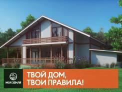 Проект большого двухэтажного дома с гаражом - Фахверк 202