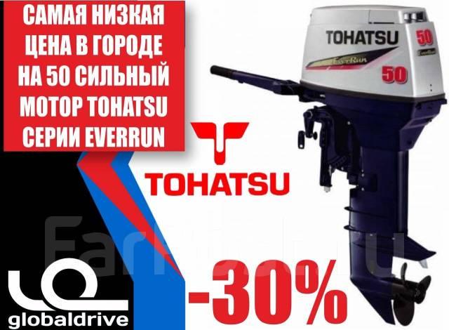 Tohatsu. 50,00л.с., 2-тактный, бензиновый, нога S (381 мм), Год: 2018 год