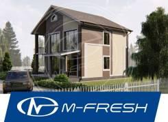 M-fresh Sweet life (Жизнь прекрасна в своём доме на природе! ). 200-300 кв. м., 2 этажа, 4 комнаты, бетон