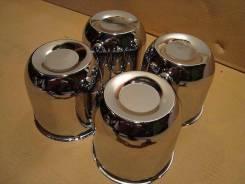 """Колпачки (стаканы) хром в центральное отверствие на литье. Диаметр 16"""", 4 шт."""