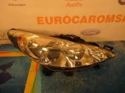 Фара. Peugeot 207, WA, WB, WC, WK Двигатели: DV6TED4, EP3C, EP6, EP6C, EP6DT, EP6DTS, ET3J4, TU3A