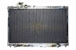 Радиатор охлаждения двигателя. Toyota Soarer, JZZ30, JZZ31 Двигатели: 1JZGTE, 2JZGE