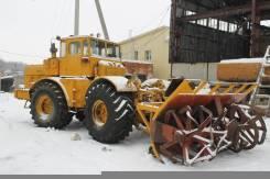 Кировец К-701. Снегоротор на базе трактора К-701, 6 000 куб. см.