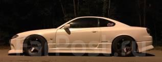Порог пластиковый. Nissan Silvia, S15 Двигатели: SR20DE, SR20DET