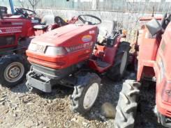 Yanmar. Трактор 13 л. с., 3 цилиндра, 4wd, фреза